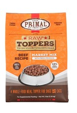 Primal Pet Foods PRIMAL Raw Toppers Market Mix Beef Recipe 5lb