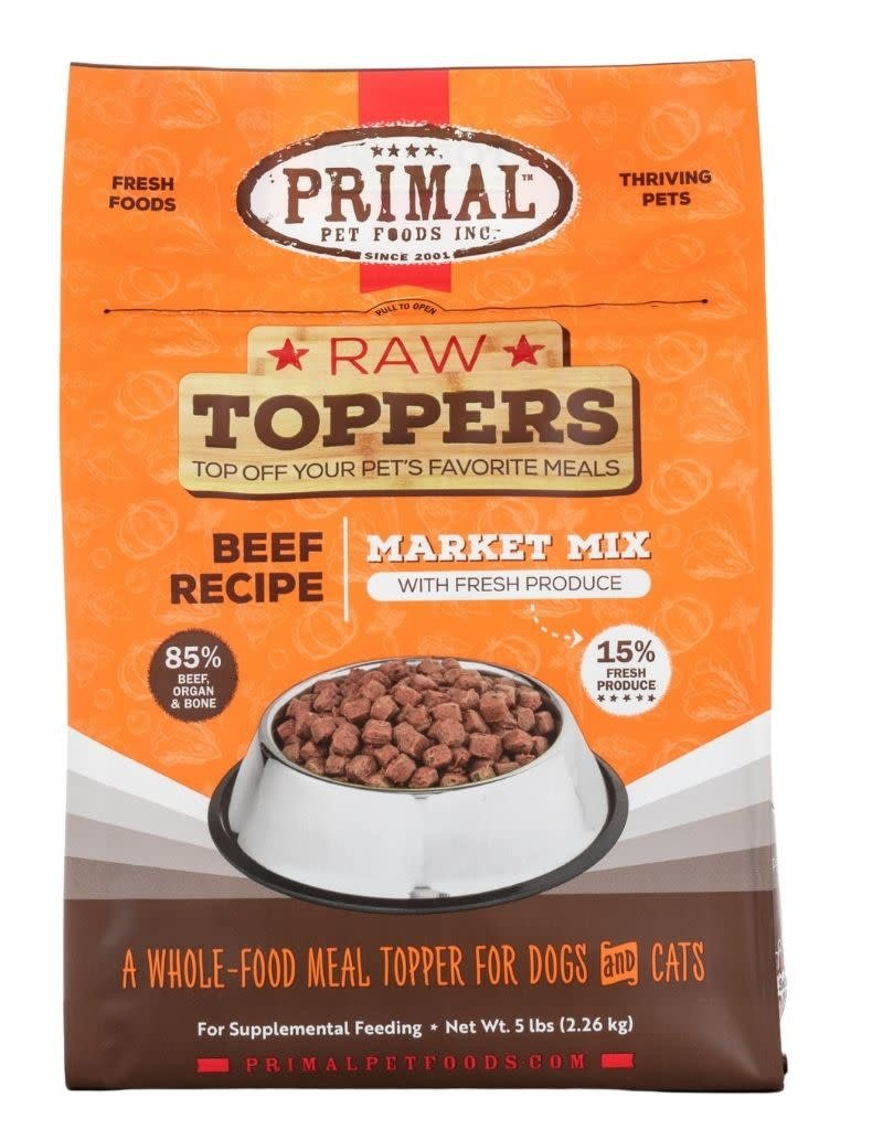 Primal Pet Foods PRIMAL Market Mix Beef Recipe 5lb