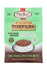 Primal Pet Foods PRIMAL Raw Toppers Market Mix Chicken Recipe 5lb