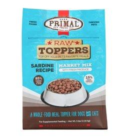 Primal Pet Foods PRIMAL Raw Toppers Market Mix Sardine Recipe 5lb