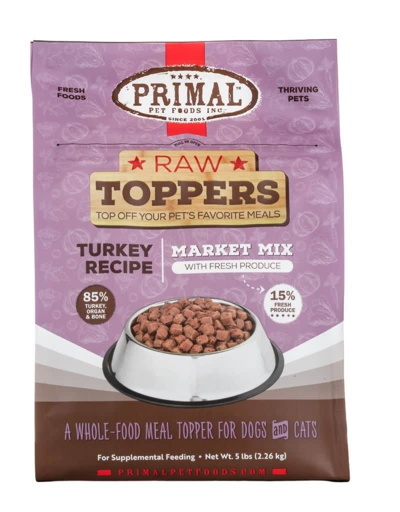 Primal Pet Foods PRIMAL Market Mix Turkey Recipe 5lb