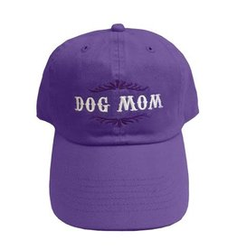 SPOILED ROTTEN DOGZ Dog Mom Hat Violet