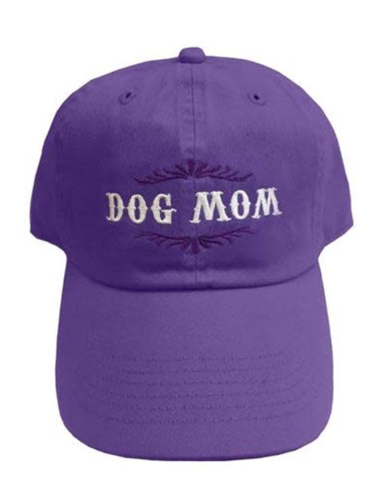 SPOILED ROTTEN DOGZ Dog Mom Hat Violet