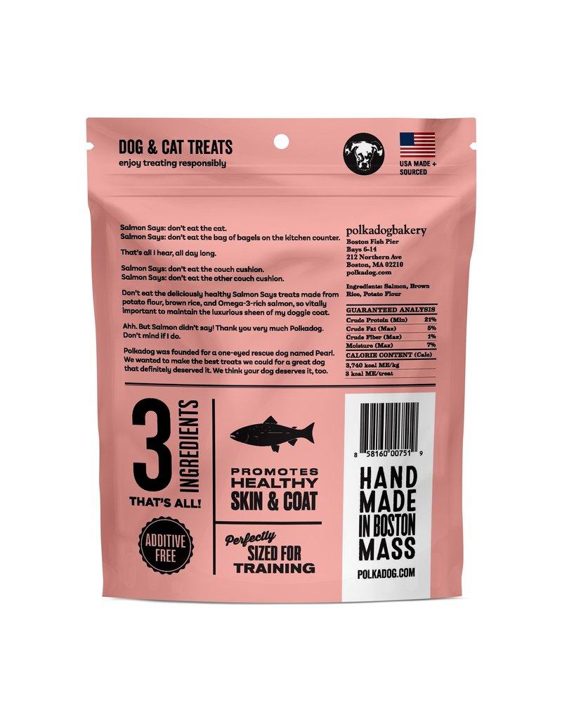 POLKA DOG POLKA DOG Salmon Says Training Bites 8oz