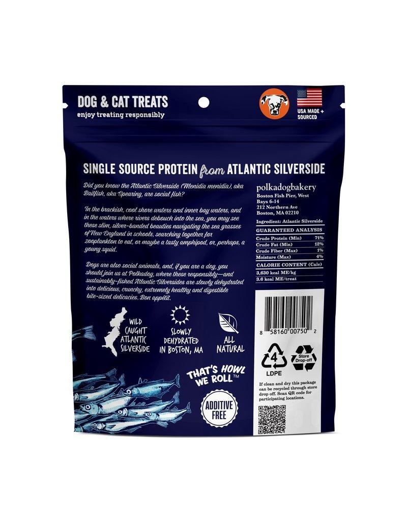 POLKA DOG POLKA DOG Silverside Crunchy Whole Fish 2.5 oz