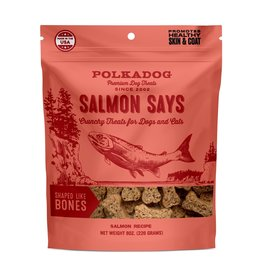 POLKA DOG POLKA DOG Salmon Says Bone Treats 8oz
