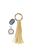 Fringe Studio FRINGE Best Dog Collar Charm & Tassle Key Chain Set