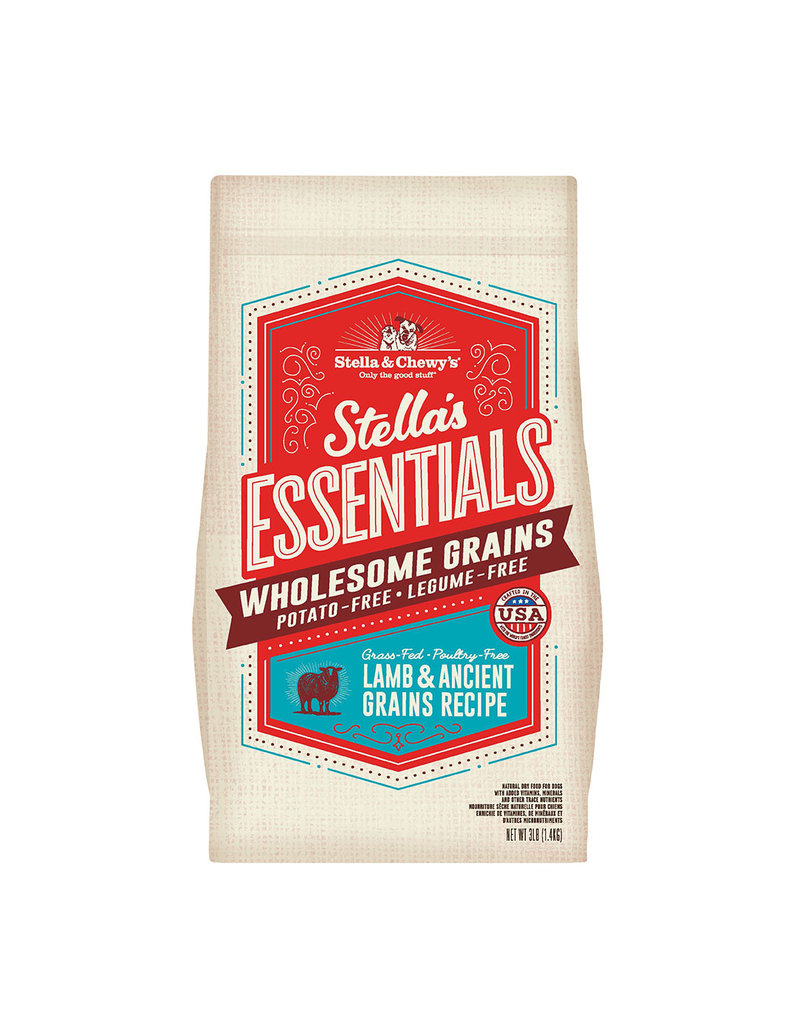Stella & Chewys STELLA & CHEWY'S Essentials Grass-Fed Lamb & Ancient Grains Dry Dog Food