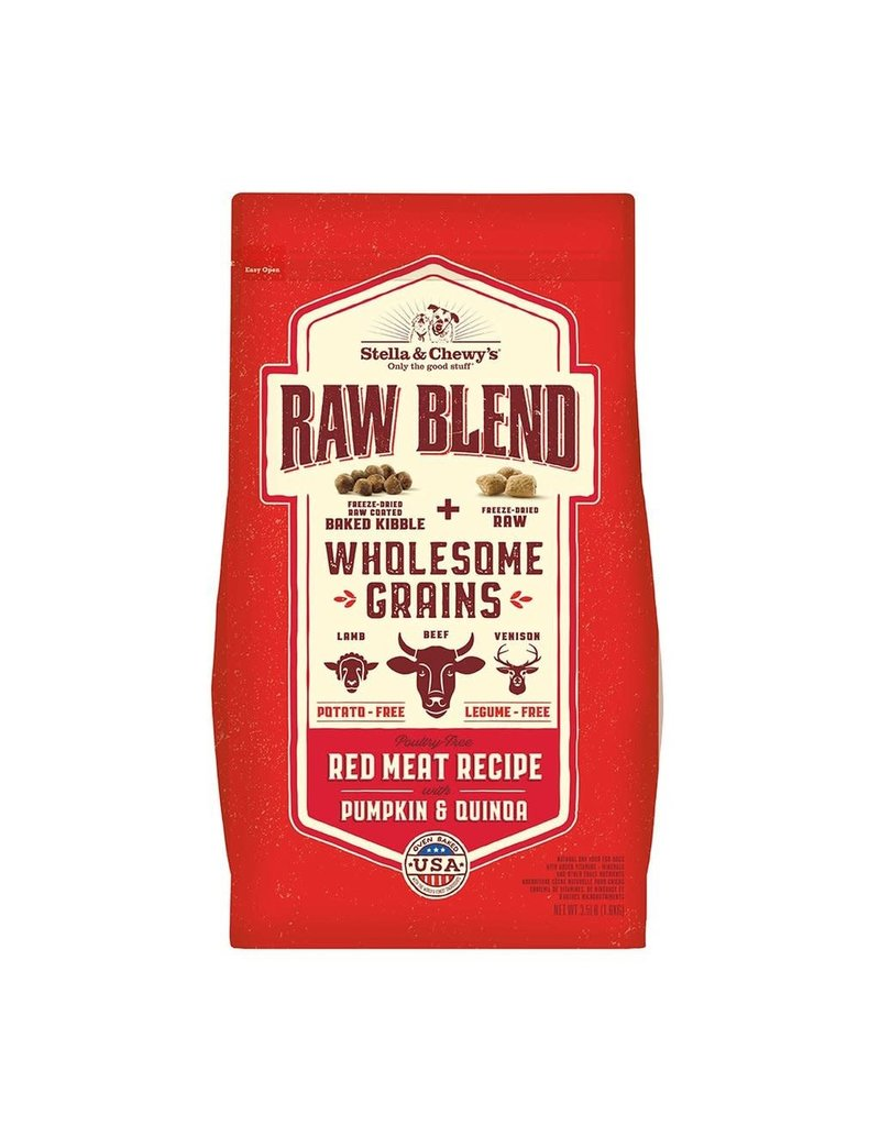 Stella & Chewys STELLA & CHEWY'S Raw Blend with Wholesome Grains Baked Red Meat Dry Dog food