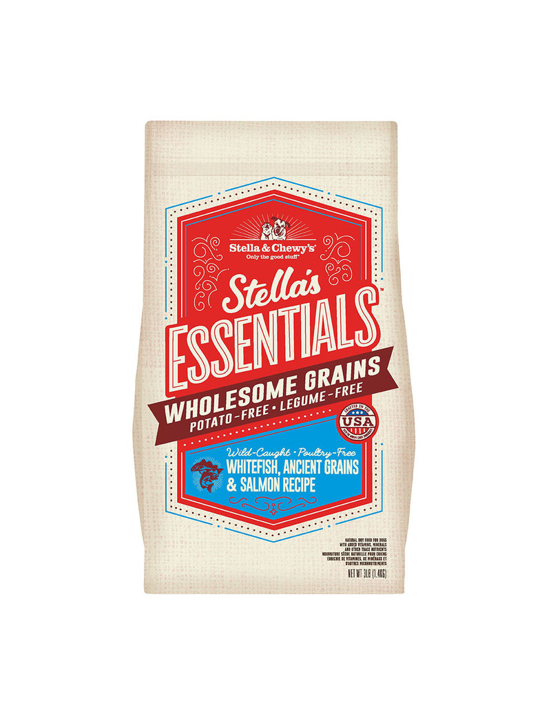 Stella & Chewys STELLA & CHEWY'S Essentials Wild Caught Whitefish, Ancient Grains & Salmon Dry Dog Food