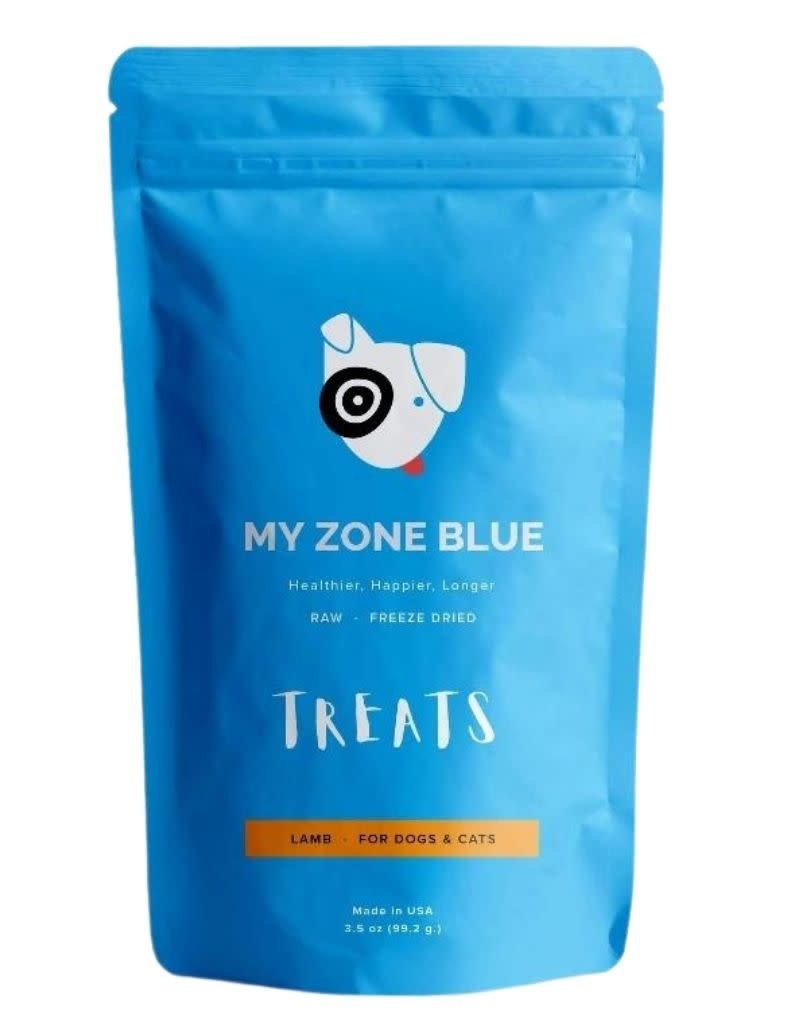 My Zone Blue MY ZONE BLUE Free Range Lamb Treats 3.5oz