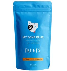 My Zone Blue MY ZONE BLUE Free Range Pork Treats 2.1oz