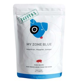 My Zone Blue MY ZONE BLUE Super Green Toppers Pork 14oz.