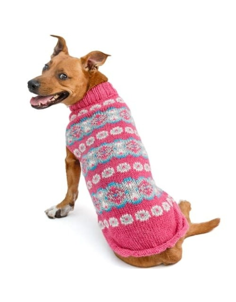 Chilly Dog Sweaters CHILLY DOG Rose Alpaca Dog Sweater