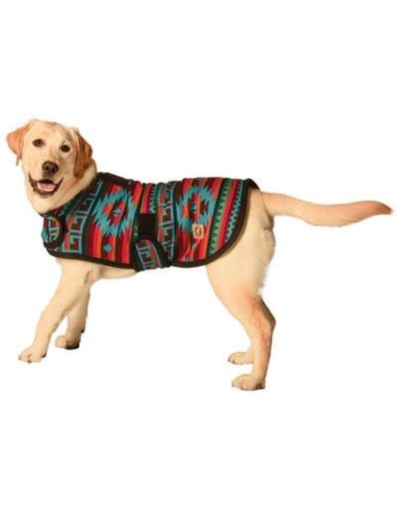 Chilly Dog Sweaters CHILLY DOG Desert Rose Blanket Dog Coat