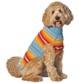 Chilly Dog Sweaters CHILLY DOG Serape Dog Sweater