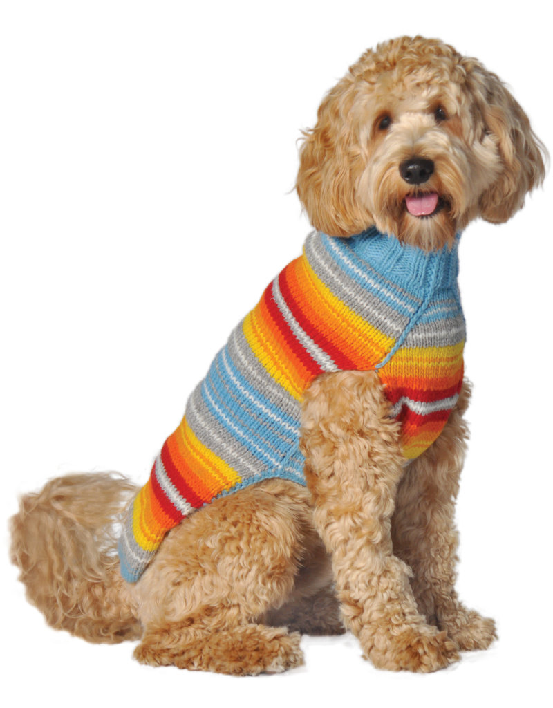 Chilly Dog Sweaters CHILLY DOG Serape Dog Sweater