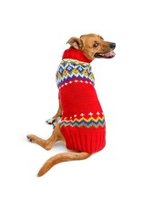 Chilly Dog Sweaters CHILLY DOG Holiday Fairisle Dog Sweater