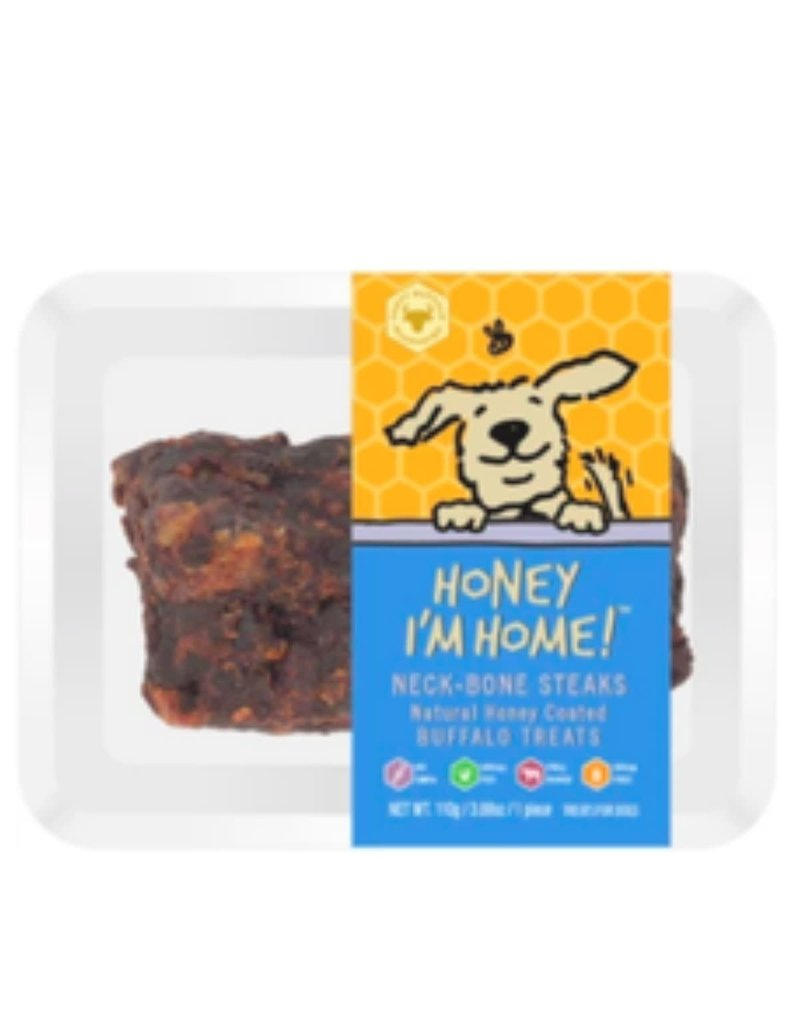 Honey I'm Home HONEY I'M HOME Buffalo Neck Bone Dog Treat