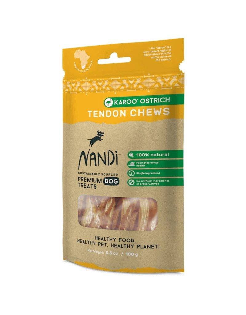NANDI PETS NANDI PETS Ostrich Tendon Chews 3.5oz
