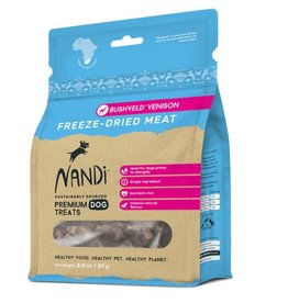 NANDI PETS NANDI PETS Freeze-dried Venison Jerky Treats 2oz