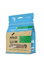 NANDI PETS NANDI PETS Freeze-dried Ostrich Treats 2oz