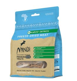 NANDI PETS NANDI PETS Freeze-dried Ostrich Treats 2oz