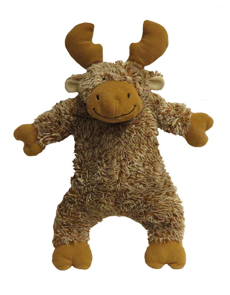FabDog FAB DOG FabTough Fluffy Moose Toy
