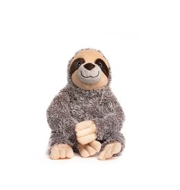 FabDog FAB DOG FabTough Fluffy Sloth Toy