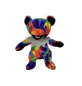 Fab Dog FAB DOG Grateful Dead Tie Dye Dancing Bear