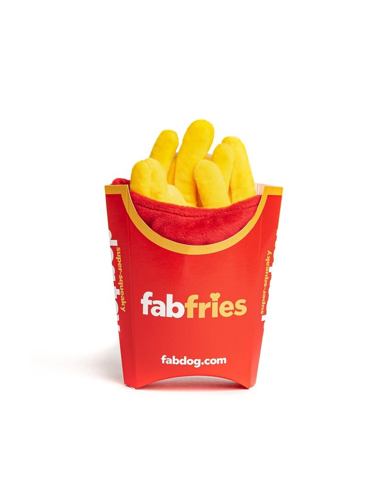 FabDog FAB DOG Fab Fries Super-Squeaker Toy