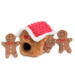 Zippy Paws ZIPPYPAWS Holiday Burrow Gingerbread