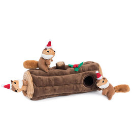 Zippy Paws ZIPPYPAWS Holiday Burrow Yule Log