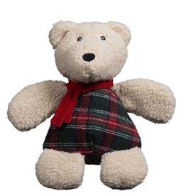 Hugglehounds HUGGLEHOUNDS Chubbie Polar Bear Dog Toy