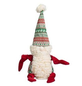 Hugglehounds HUGGLEHOUNDS Winter Wonderland Knottie Gnome Dog Toy