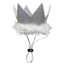 HUXLEY & KENT HUXLEY & KENT Pet Party Crown Silver