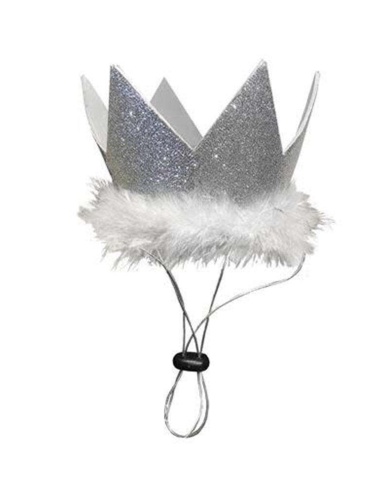 HUXLEY & KENT HUXLEY & KENT Pet Party Crown Silver