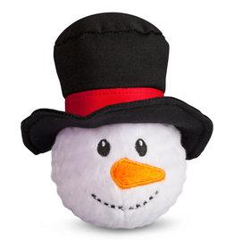 FabDog FAB DOG Snowman Faball Toy