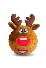 FabDog FAB DOG Reindeer Faball Toy