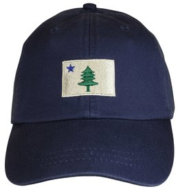 THE BELTED COW THE BELTED COW Original Maine Flag Hat Navy