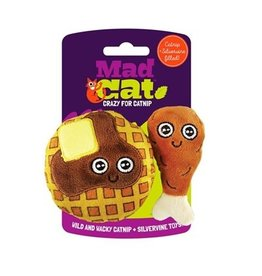 Mad Cat MAD CAT Chicken & Waffles Catnip Cat Toy