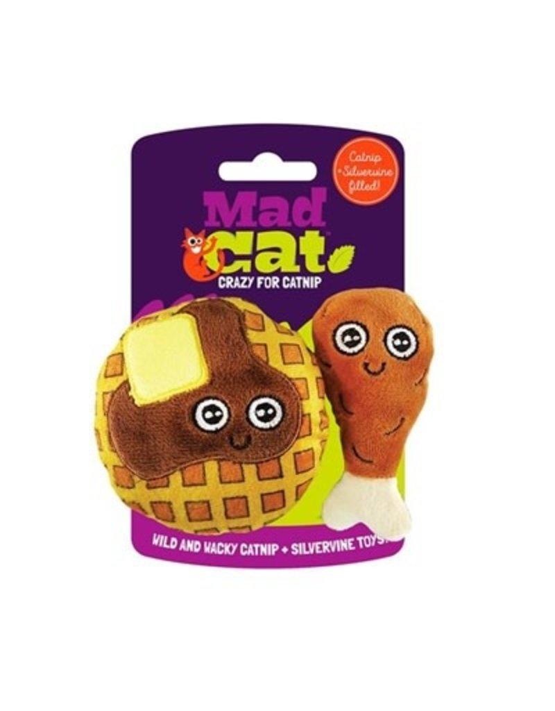 Mad Cat MAD CAT Chicken & Waffles Catnip Cat Toy