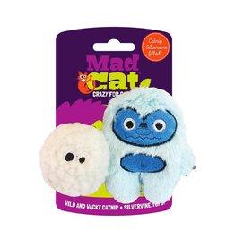 Mad Cat MAD CAT Yowlin' Yeti Catnip Cat Toy