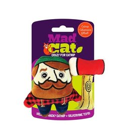 Mad Cat MAD CAT Lumberjack Catnip Cat Toy
