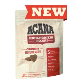 Acana ACANA High-Protein Biscuits Crunchy Beef Liver Recipe