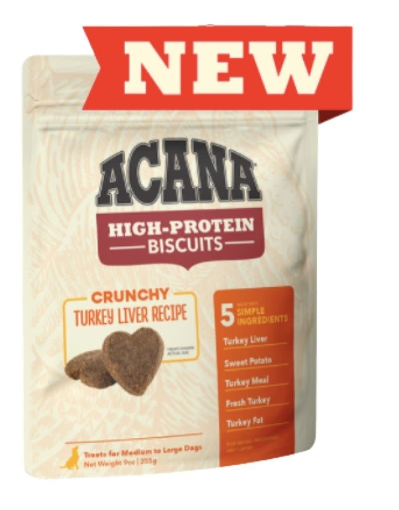 Acana ACANA High-Protein Biscuits Crunchy Turkey Liver Recipe