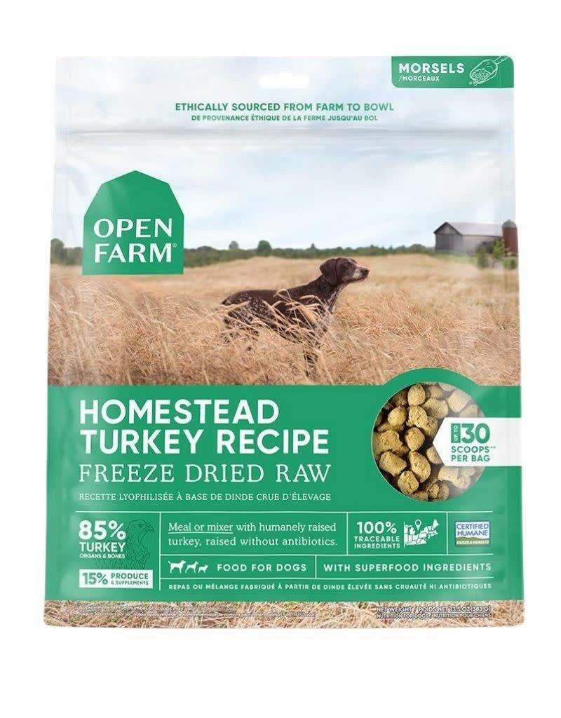 Open Farm OPEN FARM Freezedried Dog Food Turkey