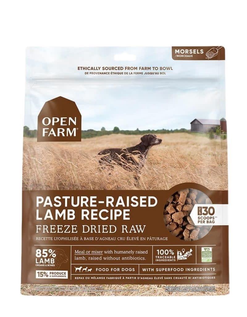 Open Farm OPEN FARM Freezedried Dog Food Lamb