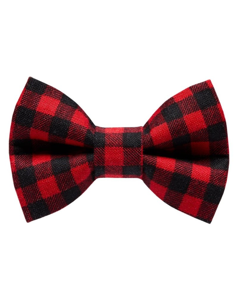 """SWEET PICKLES DESIGNS """"Ski School"""" Bow Tie for Cats"""