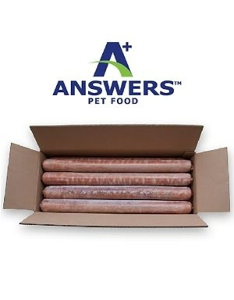 Answers ANSWERS Frozen Raw Canine Detailed Chicken 20 lb Bulk